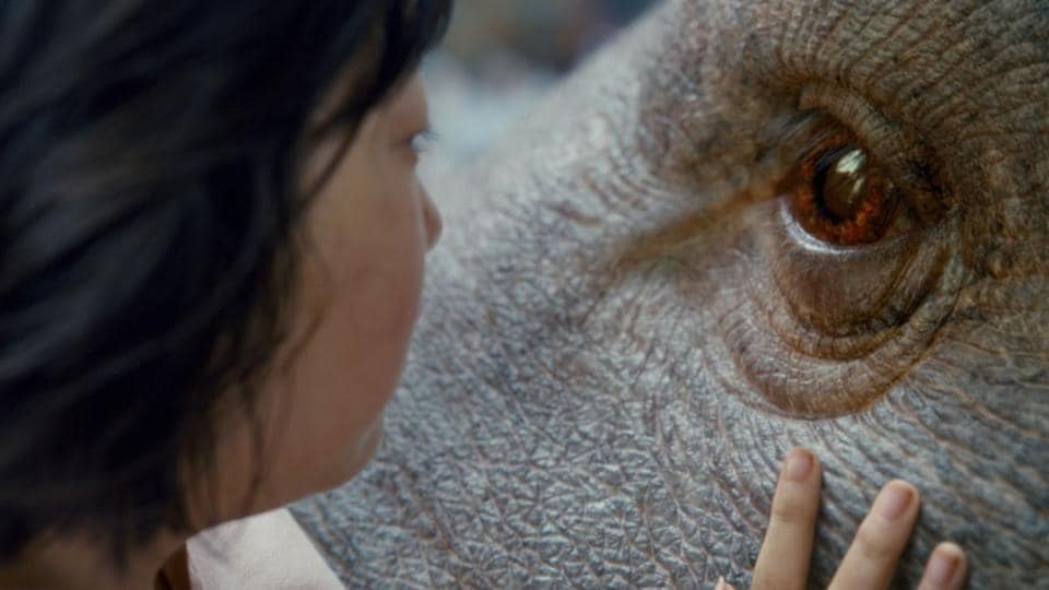 A still from Okja, the new film by Bong Joon-ho.