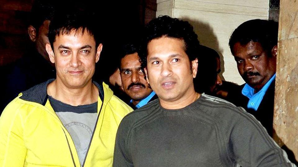 Sachin Tendulkar says he and Aamir Khan are great friends and that the Bollywod actor helped him during the making of Sachin: A Billion Dreams