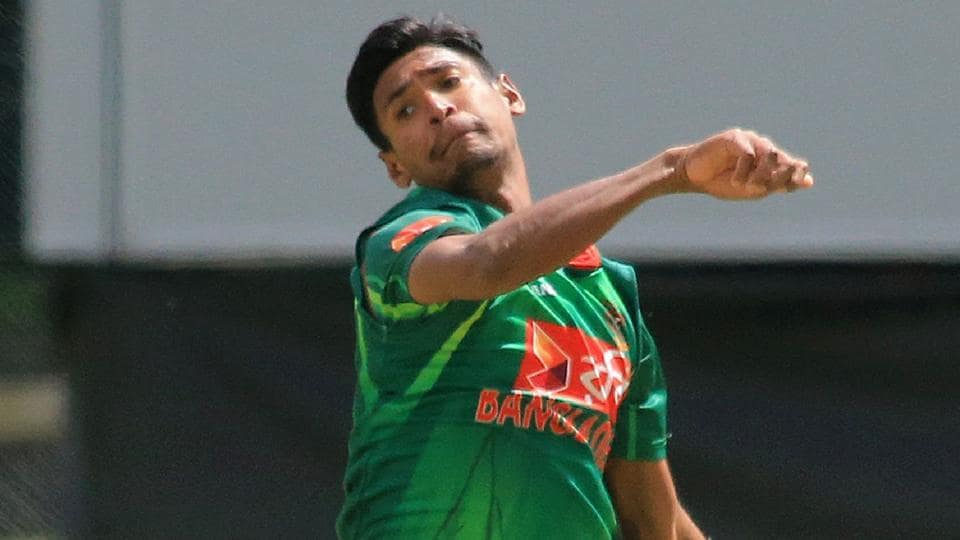 Bangladesh's Mustafizur Rahman bowled beautifully during their ODI against Ireland in the tri-nation series at the Malahide Cricket Club in Dublin on Friday.