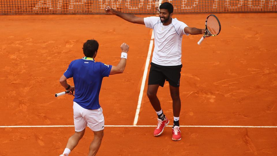Rohan Bopanna and Pablo Cuevas are eyeing a men's doubles semi-final spot at the Italian Open in Rome.