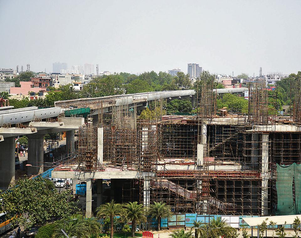 Land-related problems have cropped up at three stations — Shyam Park, Shaheed Nagar and Raj Bagh.