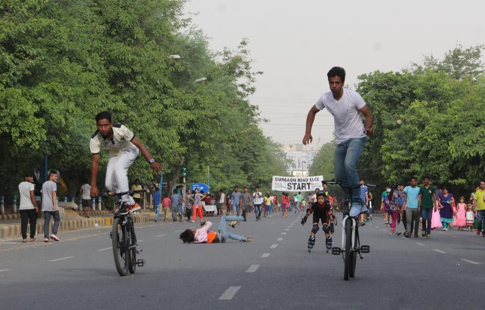 Raahgiri Day,Municipal Corporation of Gurugram,Gurgaon Police