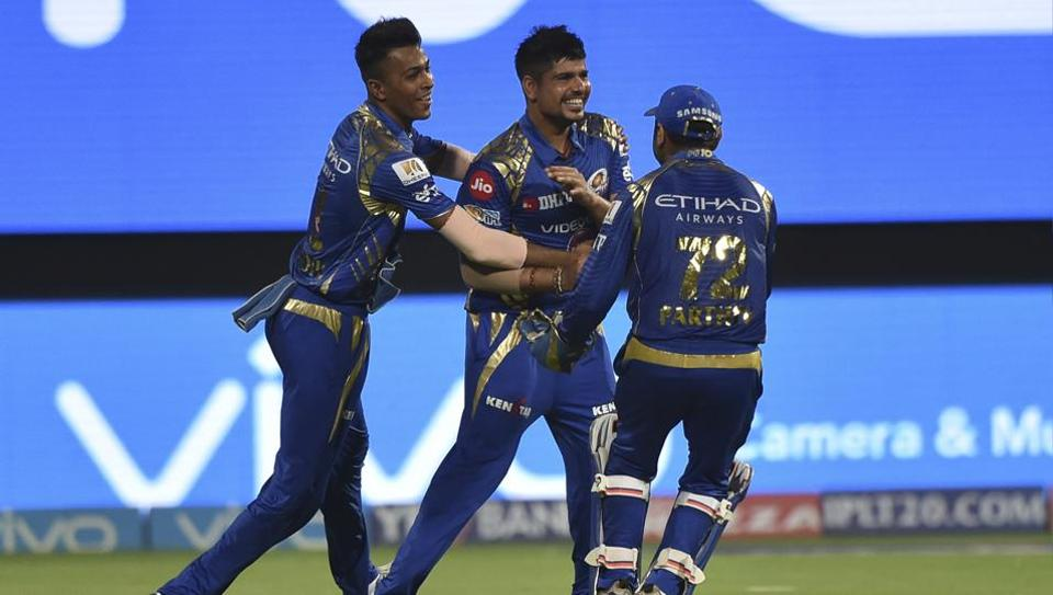 Mumbai Indians bowler Karn Sharma was named Man of the Match for picking up 4/16 against Kolkata Knight Riders in the Indian Premier League Qualifier 2 in Bangalore on Friday.