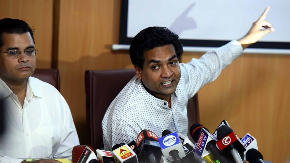 In a third attack at Delhi chief minister Arvind Kejriwal, sacked minister Kapil Mishra claimed that AAP had received funds through 'hawala channels'.