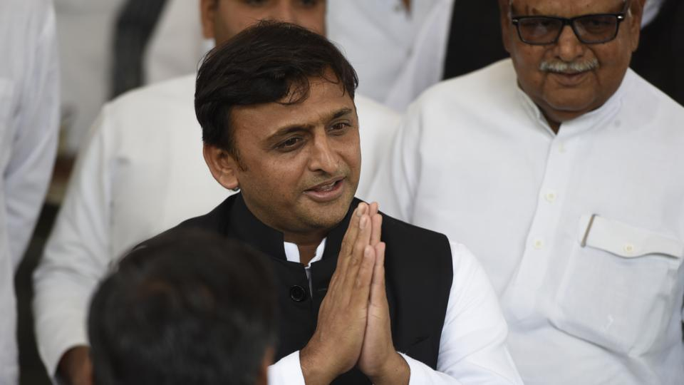 Former Uttar Pradesh chief minister Akhilesh Yadav distributed cash to unemployed people as allowance by organising functions.