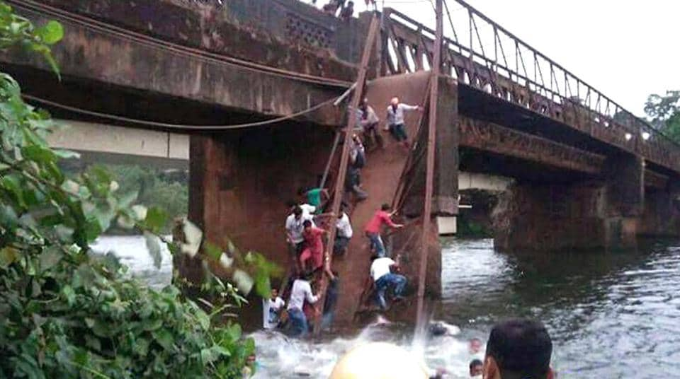 Goa bridge collapse