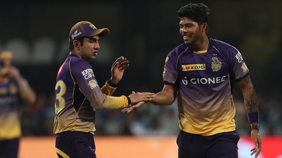 Captain Gautam Gambhir and Umesh Yadav have both performed well for Kolkata Knight Riders in the Indian Premier League (IPL) 2017 so far.