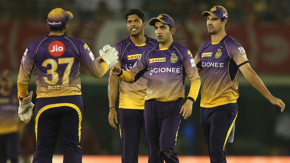 Gautam Gambhir-led Kolkata Knight Riders will face Mumbai Indians in the Indian Premier League (IPL) 2017 Qualifier 2 on Friday.
