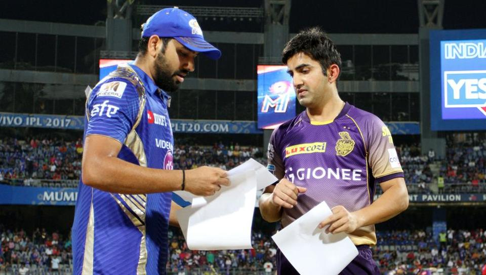 It's Mumbai Indians vs Kolkata Knight Riders in an IPL 2017 knockout clash at Bangalore's Chinnaswamy Stadium on Friday night. The winners of MI vs KKR advances to Sunday's final where they will play Rising Pune Supergiant. Get live cricket score of MI vs KKR here.