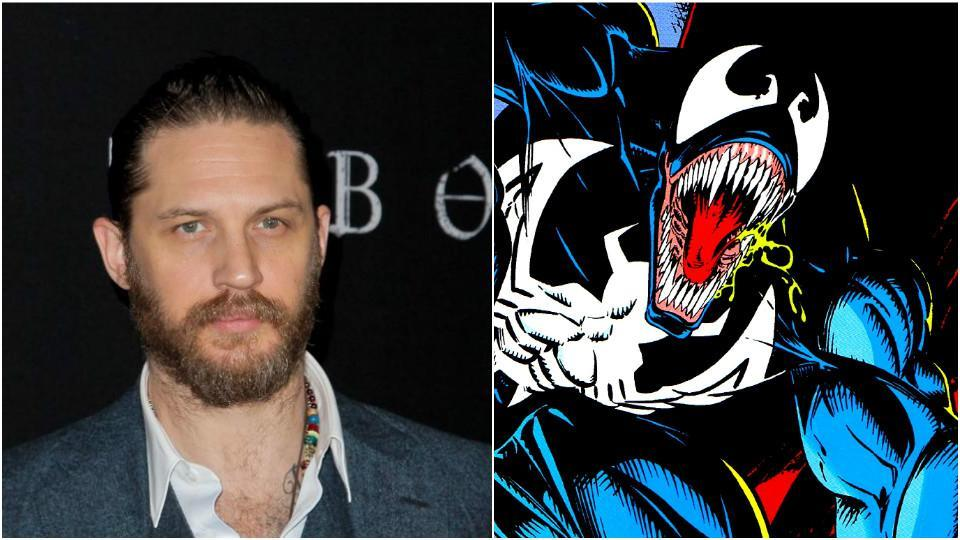 Tom Hardy is joining the Marvel Universe.