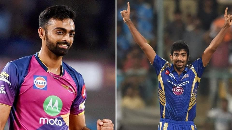 Jaydev Unadkat (22 wickets) and Jasprit Bumrah (18 wickets) have both been the backbone of their respective bowling line-ups. (HT photo)