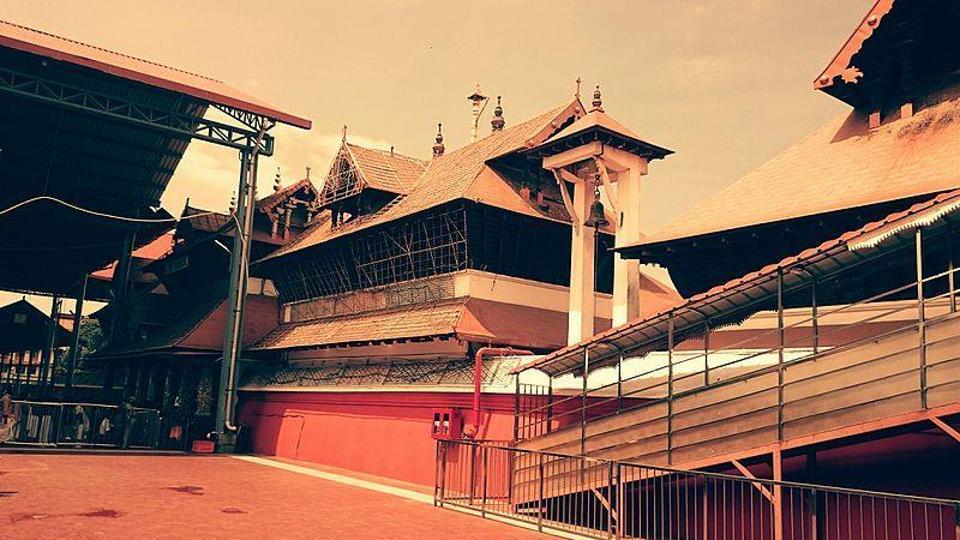 The Guruvayur Temple in Kerala.
