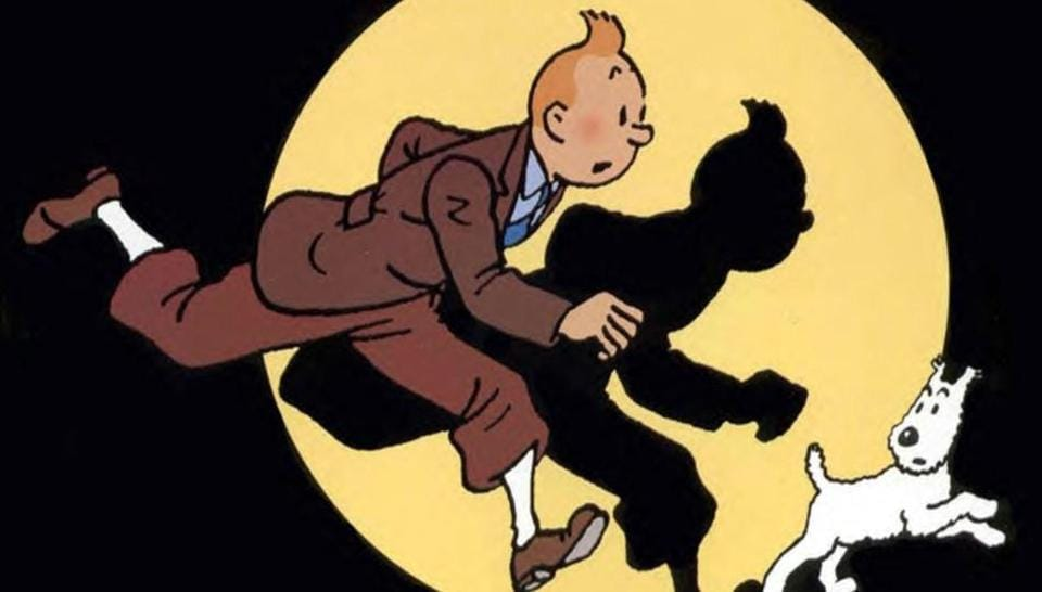 Tintin, the intrepid reporter, is one of the most popular cartoon characters created in the 20th century.
