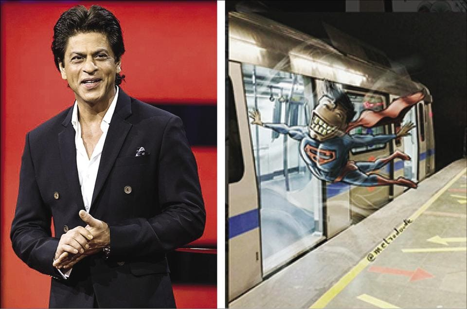 Shah Rukh Khan's TED Talk, Delhi Metro's doodles and more on this week's Brunch WTF