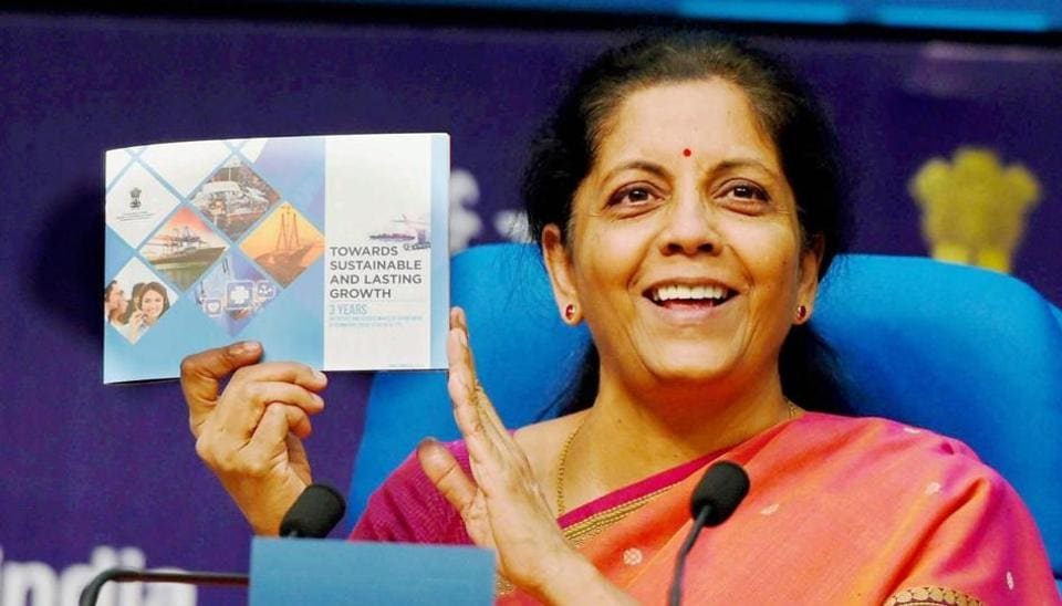 Nirmala Sitharaman,commerce and industry minister,GST