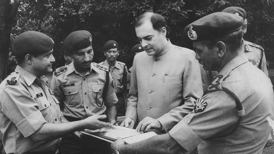 The accord with Sri Lanka lead to the establishment of Indian Peace Keeping Force (IPKF) whose main role was to disarm the militants group especially LTTE in Sri Lanka. Signed as a non violent agreement, after few months in Sri Lanka, IPKF had to engage in multiple combat operations because of LTTE's repeated attacks on them.  (ht photo)
