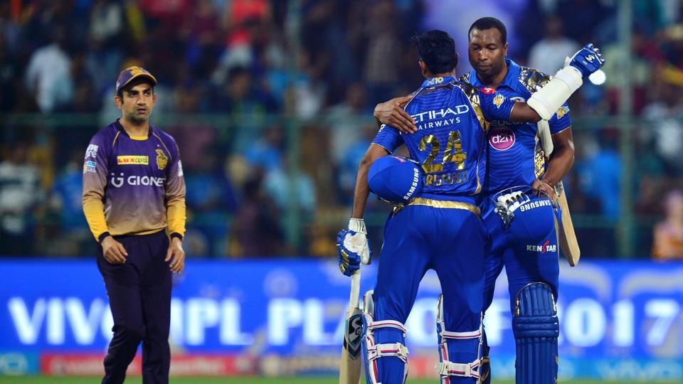 Mumbai Indians defeated Kolkata Knight Riders by six wickets in Qualifier 2 to reach the IPL 2017 final. Here's the full schedule of IPL 2017 T20 play-off matches, full results and points table.