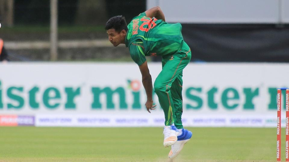 Bangladesh pacer Mustafizur Rahman was in prime form against Ireland in the tri-nation series at the Malahide Cricket Club in Dublin on Friday.