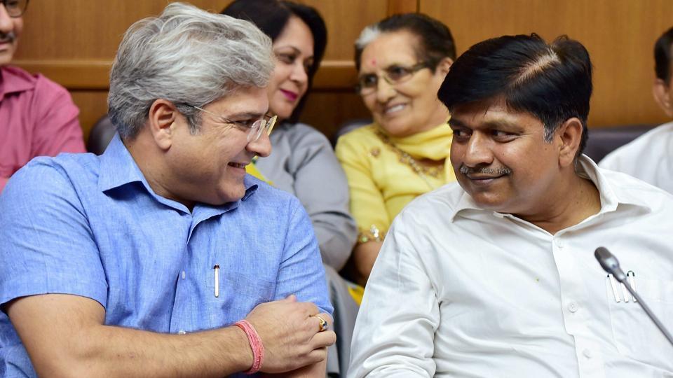 Kapil Mishra,Rajendra Pal Gautam,Delhi Jal Board