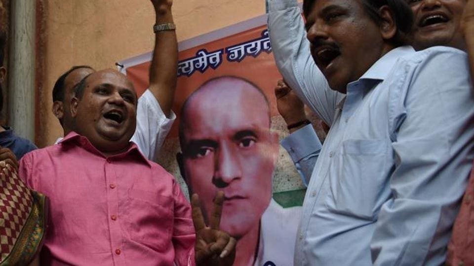 People react after Kulbhushan Jadhav's execution was stayed by the International Court of Justice.