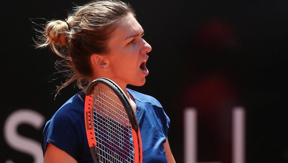 Simona Halep,Kiki Bertens,Rome Masters
