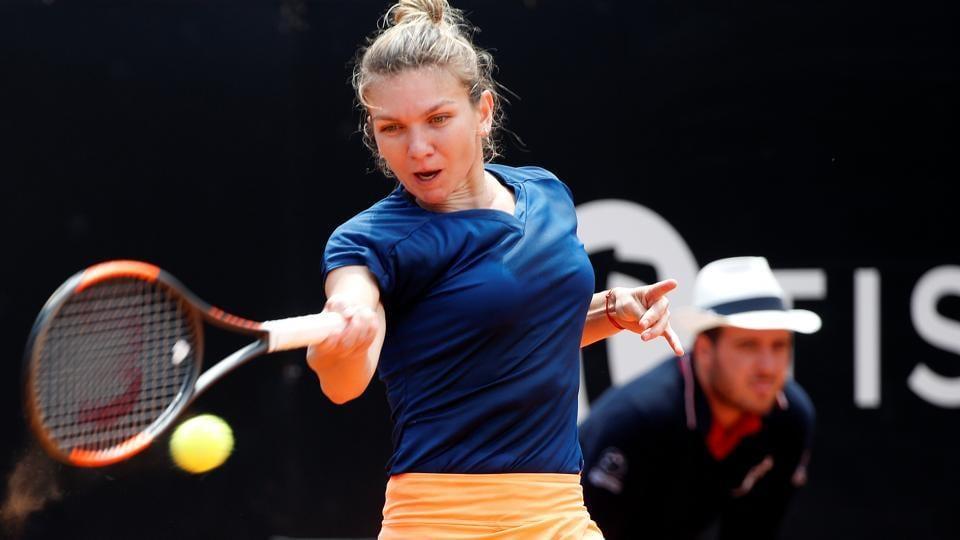 Simona Halep,Kiki Bertens,Italian Open