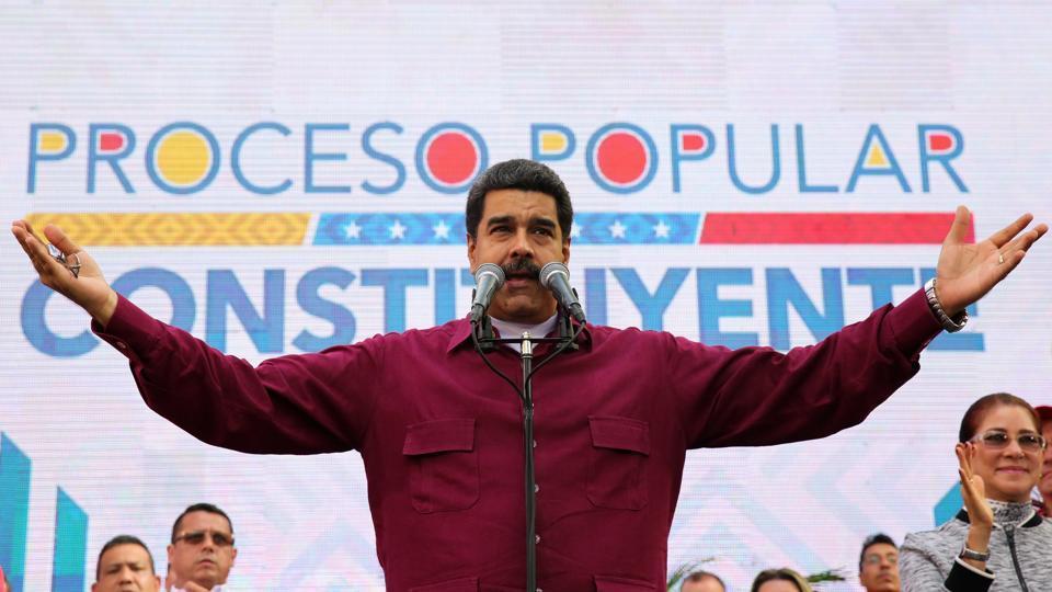 Donald Trump,Venezuelan President Nicolas Maduro,USsanctions