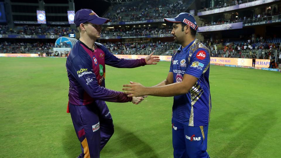 Rohit Sharma,Steve Smith,IPL 2017 Final