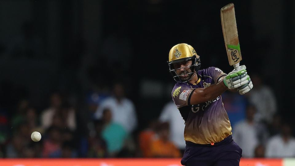 Ishank Jaggi of Kolkata Knight Riders during the 2nd qualifier match against Mumbai Indians. (BCCI)