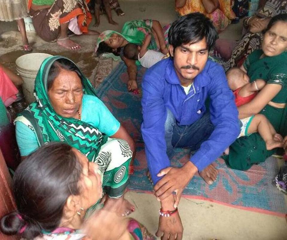 Arjun, 25, a farmer and a resident of Nangla Gulela village in Mainpuri district of Uttar Pradesh.