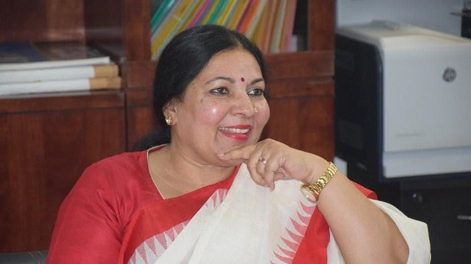 Sunaina Singh, who took charge as vice-chancellor of Nalanda University, Rajgir (Bihar), on May 15.