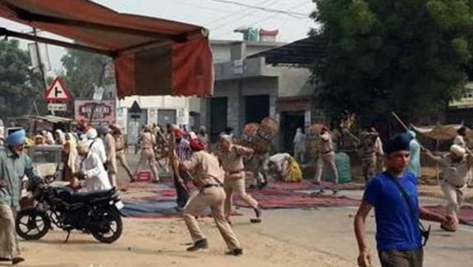 Behbal Kalan,police firing,protestors