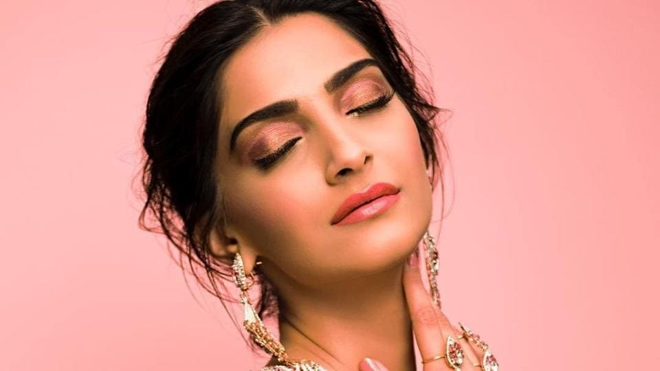 Sonam is a sparkly beauty in an Elie Saab gown.
