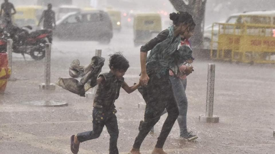 Delhi rain,Rainfall,Weather