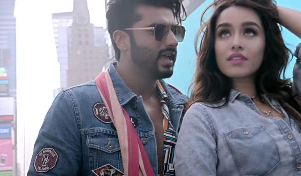 Arjun Kapoor and Shraddha Kapoor in a still from Half Girlfriend.