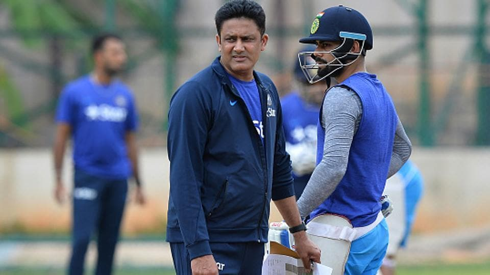 India cricket team coach Anil Kumble met BCCI Committee of Administrators (COA) along with office Board office bearers in Hyderabad, while skipper Virat Kohli expressed his views about pay hike via skype.