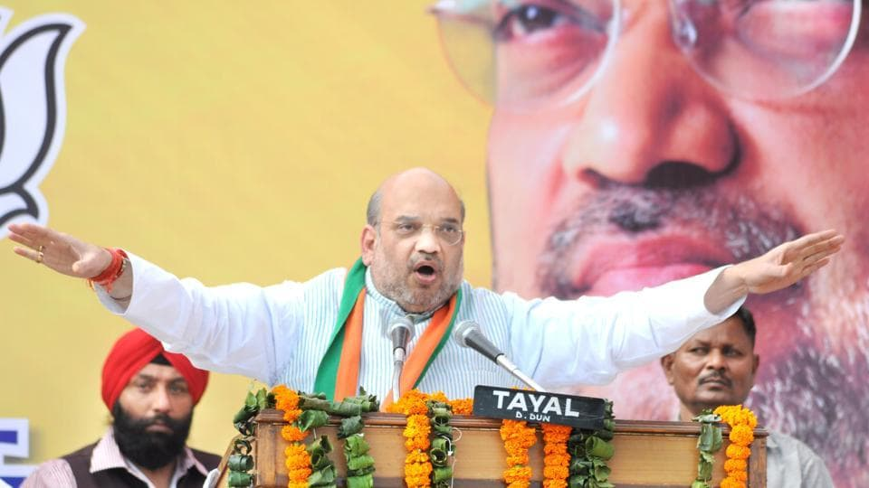 BJP president Amit Shah will be in the state for three days as part of his 95-day countrywide tour during which he will interact with the BJP cadre.