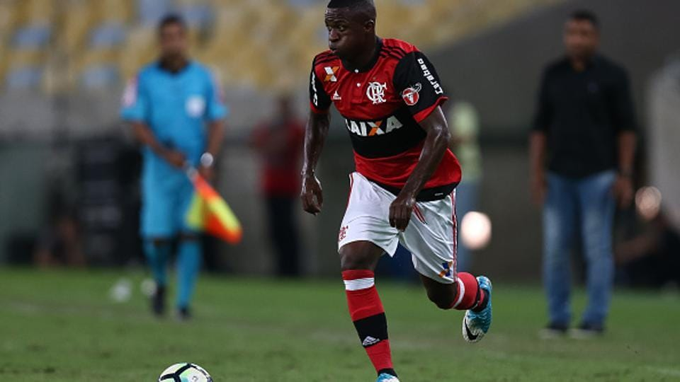 Vinicius Jr., the Brazil U-17 star, who plays for Flamengo, is expected to join Real Madrid C.F. for a fee of 45 million euros ($50.4 million).