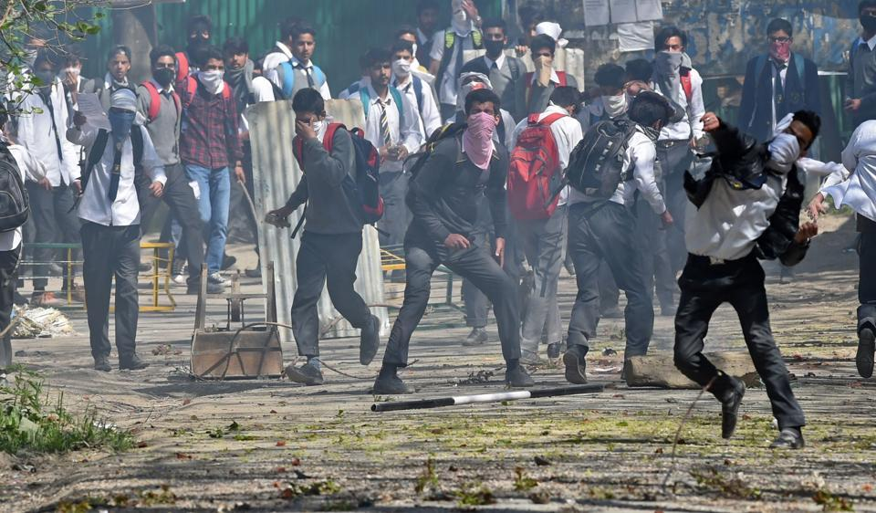 Over 60 weapons were reportedly snatched from policemen ever since unrest began in the Valley following the death of Hizbul commander Burhan Wani in July last year.