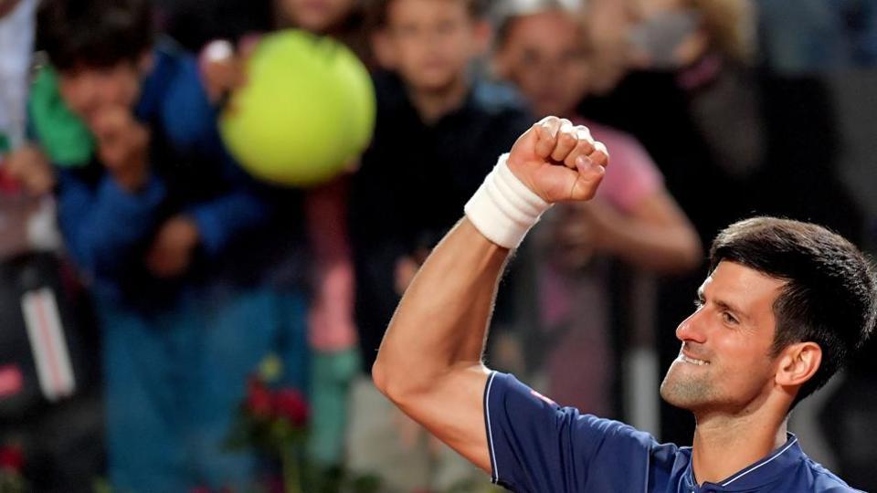 Novak Djokovic,Alexander Zverev,Italian Open