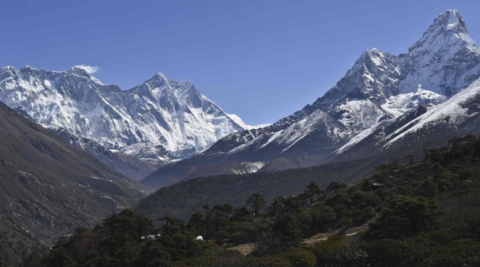 Mount Everest,Mountain climbing,High-altitude