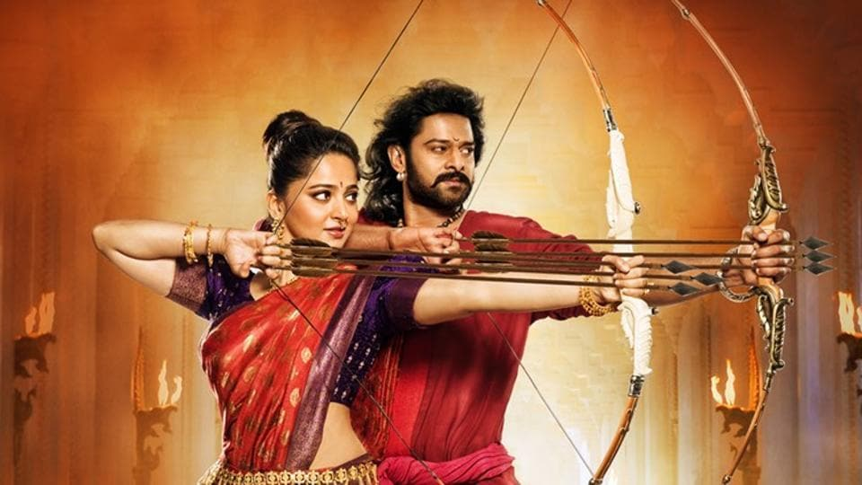 Prabhas plays the titular role in Baahubali and Baahubali 2.