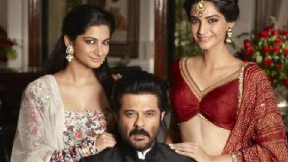 Sonam Kapoor,Rhea Kapoor,ANil Kapoor