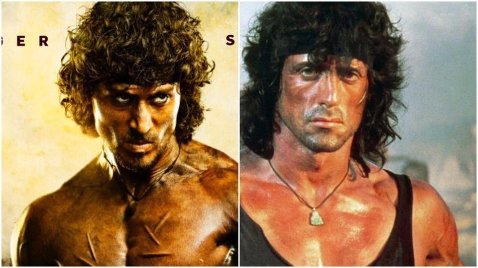 Sylvester Stallone,Tiger Shroff,Rambo