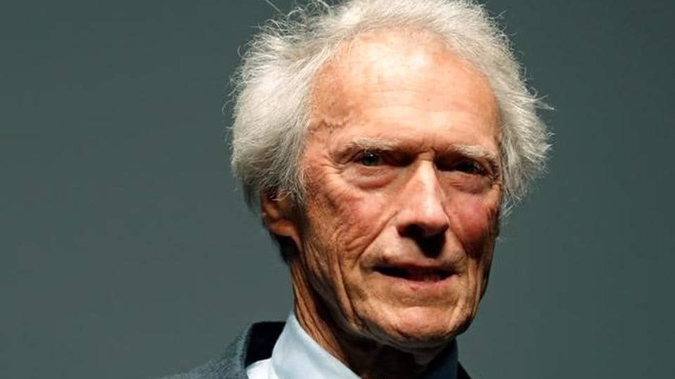 Director Clint Eastwood arrives for the screening of the restored copy of the film Unforgiven at Cannes, France.