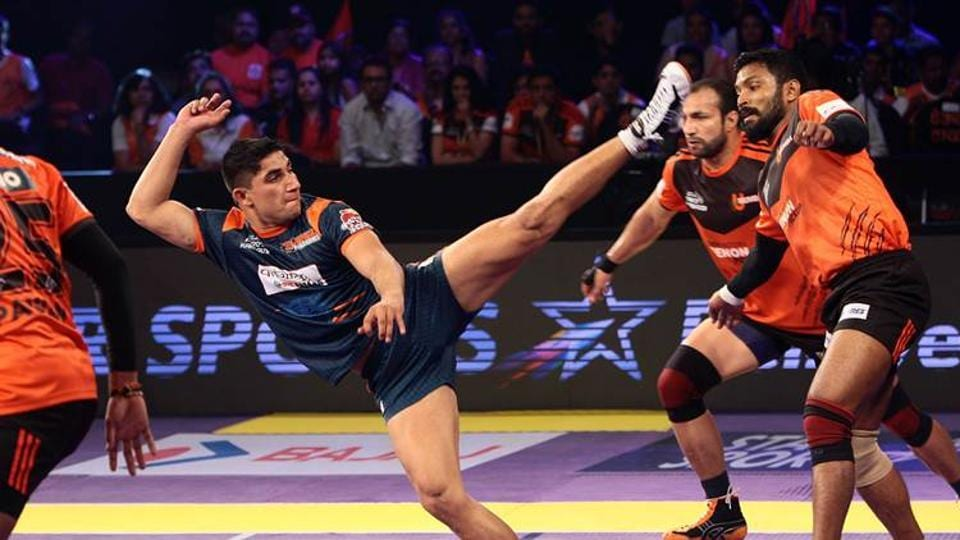 Nitin Tomar, whose base price was Rs20 lakh, was thrilled after being bought by the Uttar Pradesh franchise in  the Pro Kabaddi League auction.