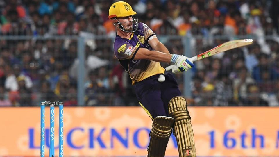 Gujarat Lions had notched up 183/4 against KKR.  But Suresh Raina's side were blown away by the insane power-hitting of Chris Lynn. He blasted 93 off 41 balls, including six fours and eight sixes,  helping KKR to a 10-wicket win. (AFP)