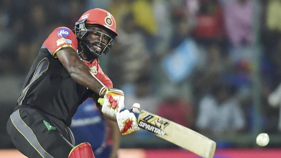 Though Royal Challengers Bangalore did not have a great season, their opener Chris Gayle became the first batsman to score 10,000 runs in Twenty20 cricket. (PTI)