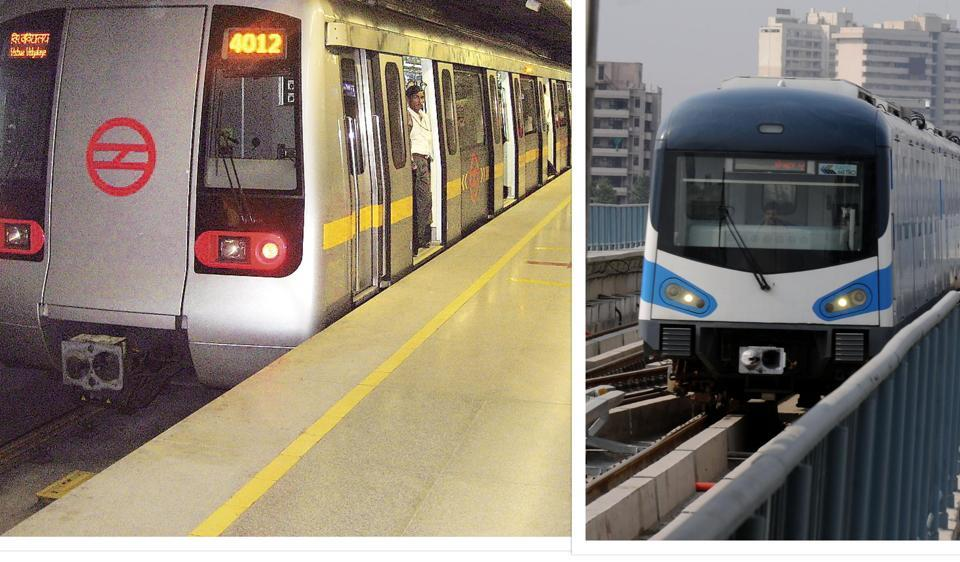 Residents of Delhi and Gurgaon battle it out over why their metro is better than the other.