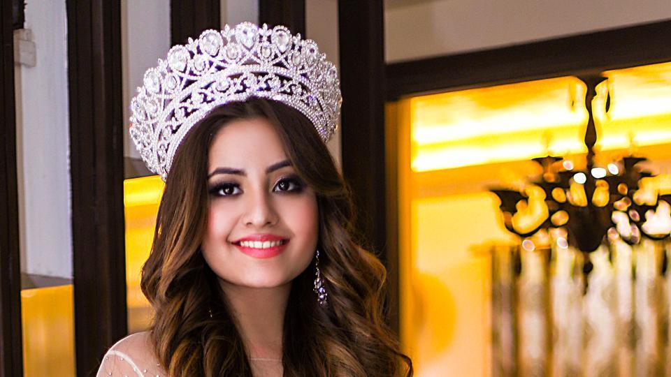 Miss Teen Universe Srishti Kaur is a student of fashion in London.
